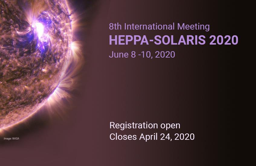 Heppa-Solaris2020 Meeting