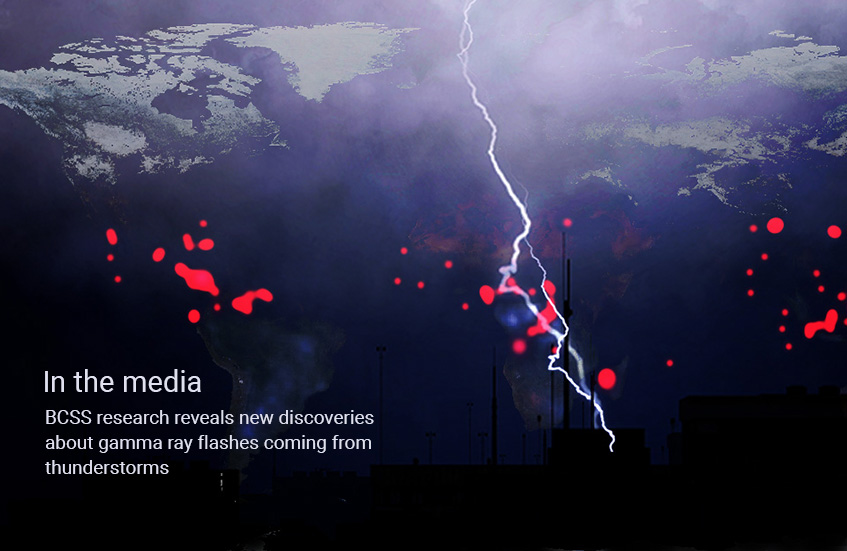 Media News – new discoveries about gamma ray flashes