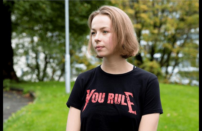 Amalie Øie Hovland interviewed in Studvest