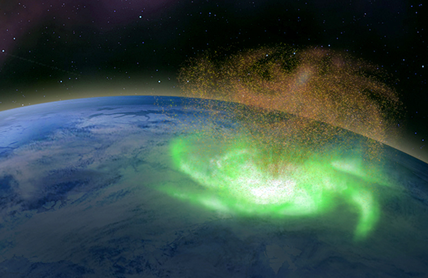 A Space Hurricane Observed for the First Time
