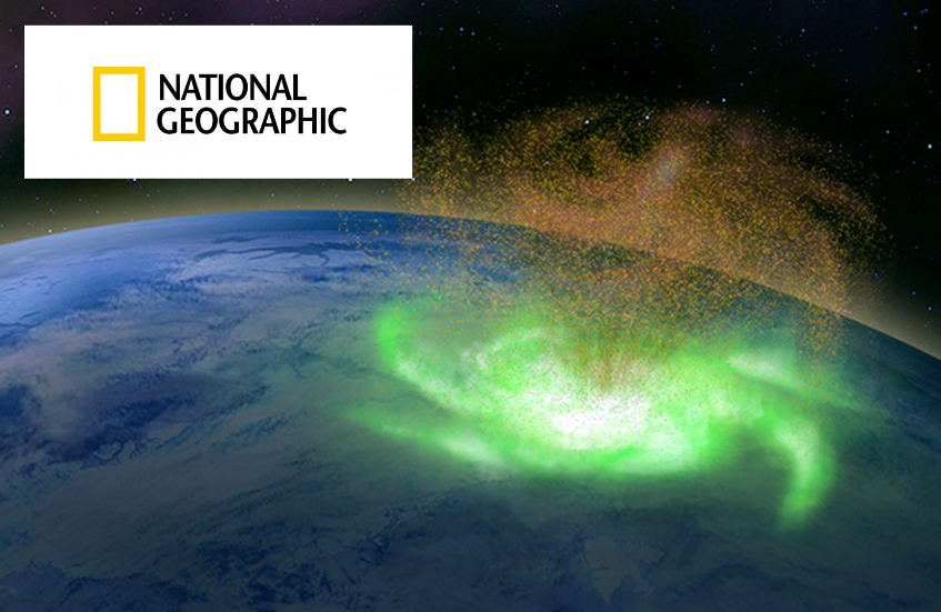 Space Hurricane in National Geographic